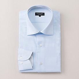 シャドウクレストブリッジチェックセミワイドカラーシャツ
