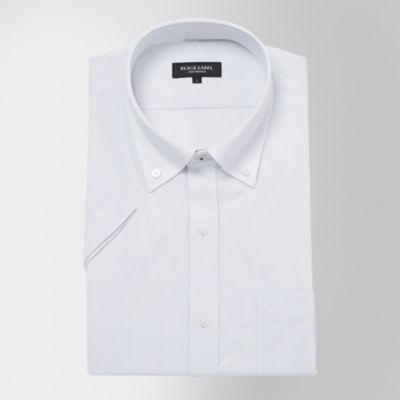 【イージーケア】クレストブリッジグレンチェックジャージーハーフボタンダウンシャツ