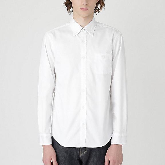 ストレッチピンオックスフォードボタンダウンシャツ