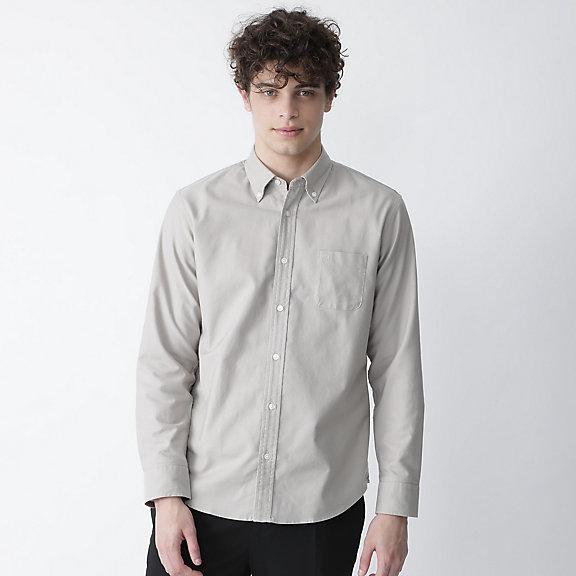 スーピマコットンオックスボタンダウンシャツ