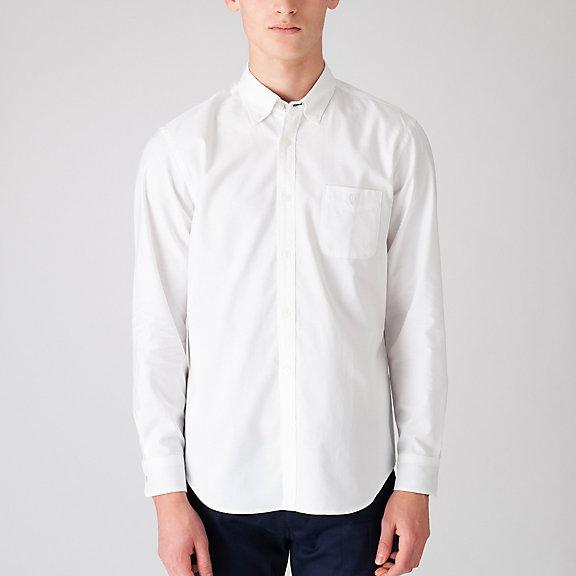 ナチュラルストレッチオックスフォードボタンダウンシャツ