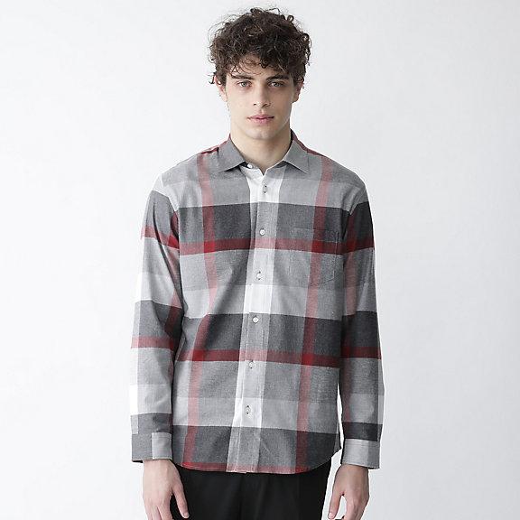 クレストブリッジチェックネルシャツ