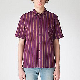 ラッセルレジメンタルストライプシャツ