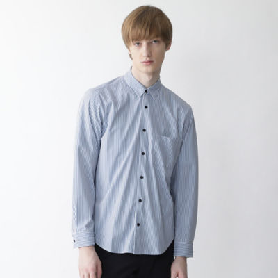 【BLACK lab.】ロンドンストライププリントシャツ