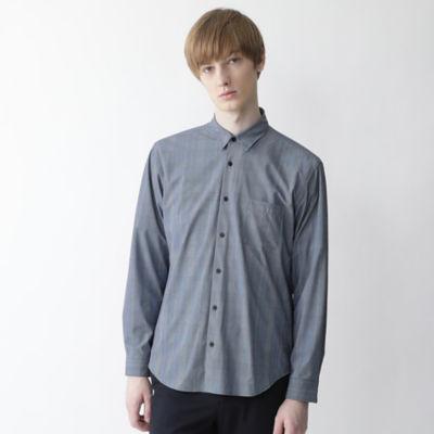 【BLACK lab.】クレストブリッジギンガムチェックプリントシャツ