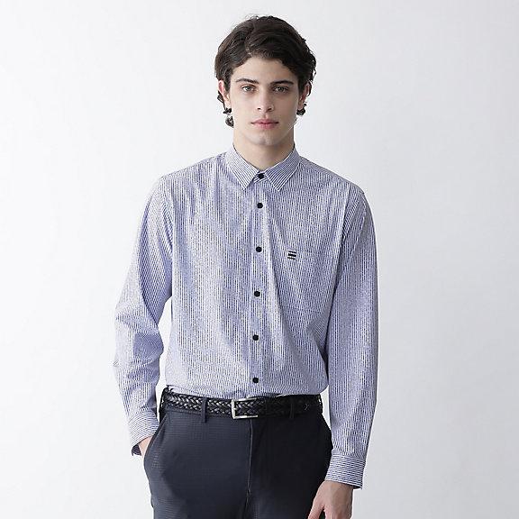 ロンドンストライププリントシャツ