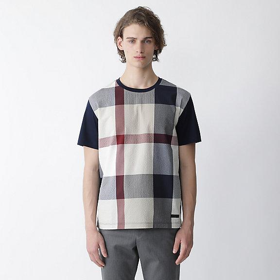 パッチワークCBチェックシャツ
