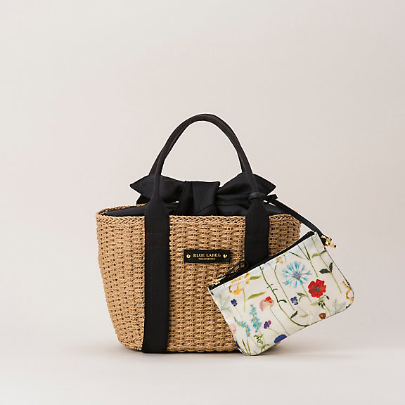 Blue Label Crestbridge bags by Burberry - Paper Yarn Tote