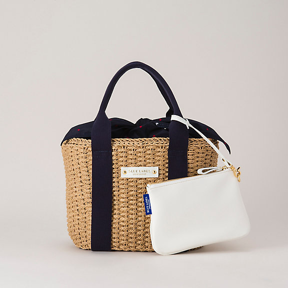 Blue Label Crestbridge bags by Burberry - Paper Yarn Tote (Special Item)
