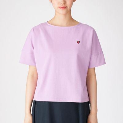 コットンバスクジャージーボリュームTシャツ